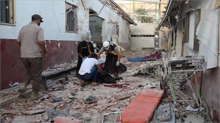 कैमरे की नजर सेः सीरिया के अस्पताल पर मिसाइल हमले से बर्बादी के भयानक...