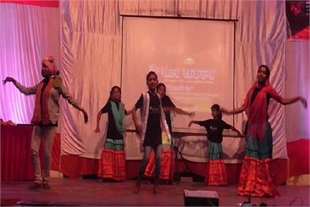 मलिन बस्तियों के बच्चों के लिए सांस्कृतिक कार्यक्रम का आयोजन