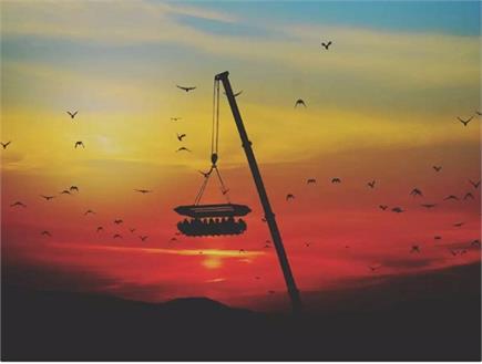 अनोखा रेस्टोरेंट, अब हवा में 160 फीट ऊपर बैठकर खा सकेंगे खाना