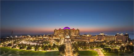 देखें अबू धाबी के आलीशान होटल की कुछ खास तस्वीरें