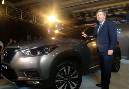 शानदार लुक के साथ भारत में पेश हुई Nissan Kicks कॉम्पैक्ट एसयूवी