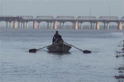 प्रयागराज में तेजी से बढ़ रहा गंगा-यमुना का जलस्तर