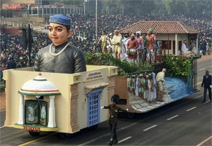 फुल ड्रैस में हुई गणतंत्र दिवस की रिहर्सल, सेना ने दिखाई अपनी ताकत