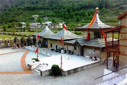 हिमाचल के Famous मन्दिरों में से एक 'मां हाटकोटी', पर्यटकों के लिए...