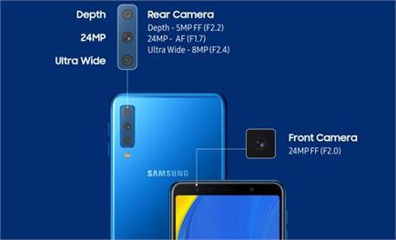 Samsung ने पेश किया ट्रिपल रियर कैमरे से लैस स्मार्टफोन