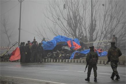 पुलवामा आतंकी हमला: 40 जवान शहीद, कड़ाके की ठंड में सेना की...