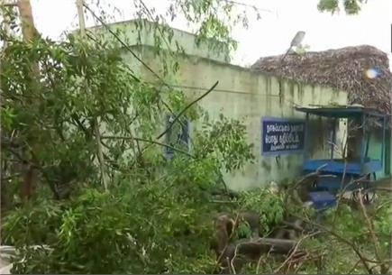 'गजा' ने तमिलनाडु में मचाई तबाही, पेड़ उखड़े व कई घरों को पहुंचा...