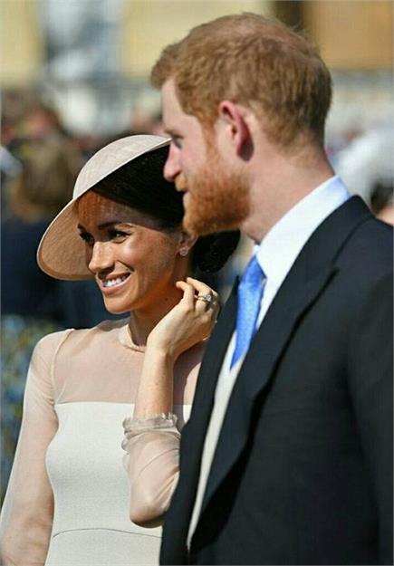 शादी के बाद प्रिंस हैरी और मेगन ने दी पहली Public Appearance