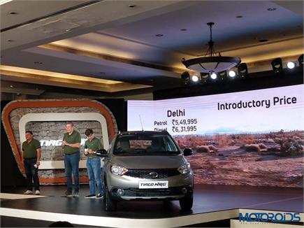 Tata Tiago NRG भारत में हुई लॉन्च