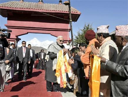 लाल जैकेट-काले चश्मे में मुक्तिनाथ मंदिर पहुंचे PM, भगवान पशुपतिनाथ...