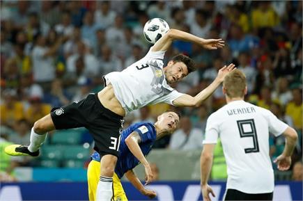 FIFA: जर्मनी ने स्वीडन को 2-1 से हराया, देखें तस्वीरें