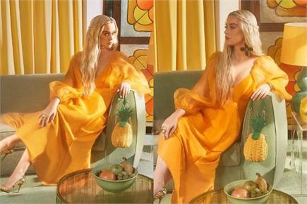 डीपनेक ड्रेस में कैटी पेरी का स्टाइलिश लुक, इंटरनेट पर छाईं सिंगर की...