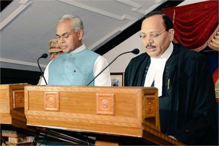 जस्टिस सूर्यकांत बने हिमाचल के Chief Justice, राज्यपाल ने राज भवन में...