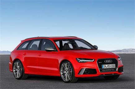 महज 3.7 सेकंड्स में 0-100 kph की स्पीड पकड़ेगी Audi की RS6 Avant...