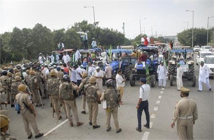 किसानों का भारत बंद... ट्रैफिक जाम से आम जनता बेहाल