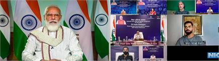 प्रधानमंत्री मोदी ने विराट कोहली, मिलिंद सोमन के साथ मिलकर दुनिया को...