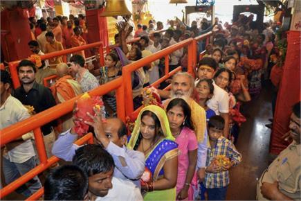 10 अक्तूबरः नवरात्रों के चलते मंदिरों में भक्तों का तांता, महाराजा...
