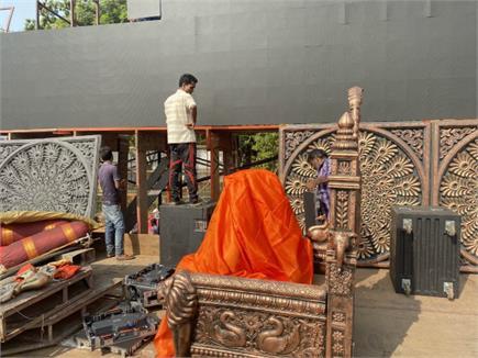 उद्धव ठाकरे की ताजपोशी के लिए सज गया शिवाजी पार्क मैदान, सुरक्षा में...