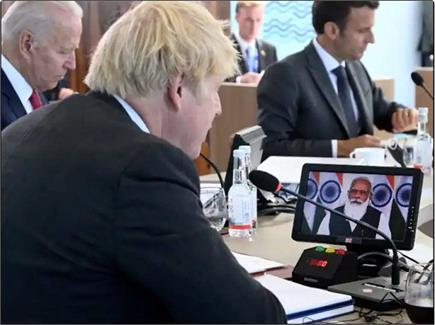 PM मोदी ने G-7 समिट में वर्चुअली लिया हिस्सा, One Earth One Health का...
