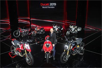 Ducati ने पेश की अपनी शानदार बाइक्स