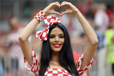 जीत के बाद यूं जश्न मनाते दिखे क्रोएशिया के फैंस