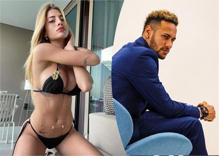 इटेलियन मॉडल Chiara Nasti पर डोरे डाल रहे फुटबॉलर नेमार, देखें फोटोज