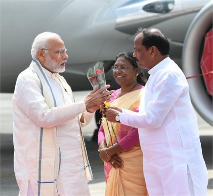 झारखंड में पीएम नरेंद्र मोदी ने लांच की प्रधानमंत्री जन अरोग्य योजना