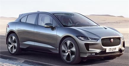 Jaguar ने पेश की पहली इलेक्ट्रिक कार I-Pace