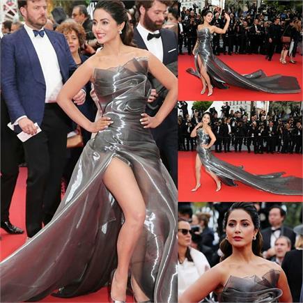 एक बार फिर हिना के Cannes Look ने मारी बाजी, फैंस ही नहीं सितारों का...