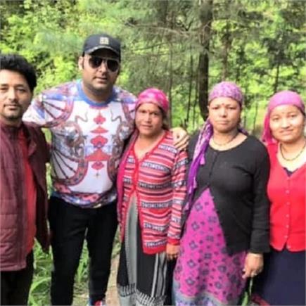 मनाली की वादियों के कायल हुए कपिल शर्मा, घने जंगलों में की सैर (PICS)