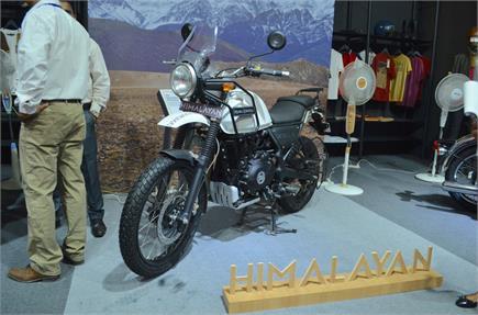 ABS के साथ Royal Enfield Himalayan भारत में लॉन्च