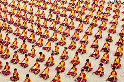 अंतरराष्ट्रीय योग दिवस की तैयारी में जुटा पूरा देश