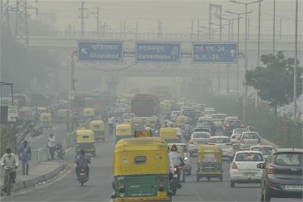 दमघोंटू दिल्ली की हवा, कोरोना के साथ प्रदूषण ने बढ़ाई लोगों की परेशानी