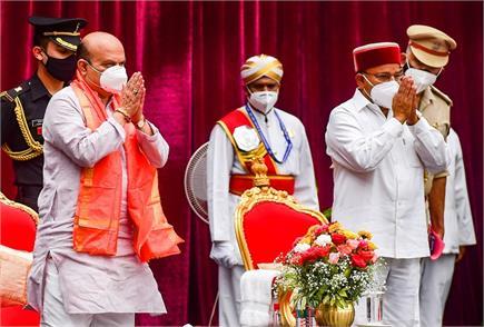 कर्नाटक की कमान अब बसवराज बोम्मई के हाथ, 23वें मुख्यमंत्री के रूप में...