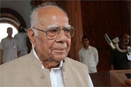 तस्वीरों में वरिष्ठ वकील राम जेठमलानी