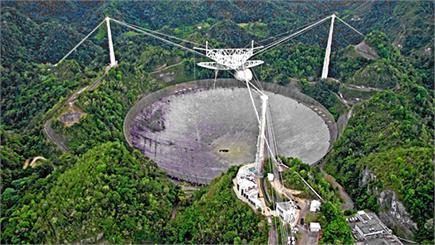 टूट गया दुनिया का सबसे बड़ा एंटीना, वैज्ञानिक परेशान-अब कौन देगा...