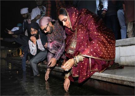 1st wedding Anniversary पर अमृतसर में श्री दरबार साहिब में नतमस्तक...