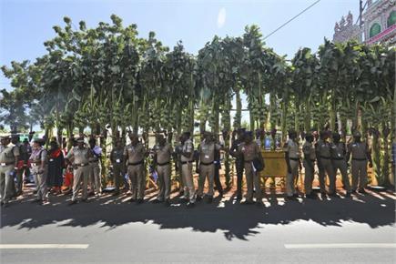 महाबलीपुरम में मोदी-शी की महामुलाकात, छावनी में तब्दील हुआ पूरा इलाका
