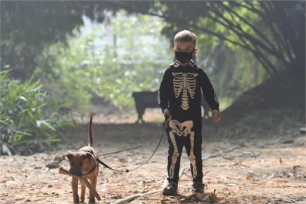 दिवाली से पहले जहरीली धुंध ने घोंटा दिल्ली का दम, विजिबिल्टी भी हुई कम