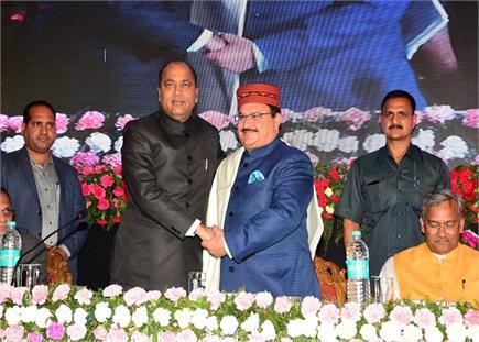 """विश्व की सबसे बड़ी योजना """"आयुषमान भारत"""" में CM जयराम-नड्डा सहित इन..."""