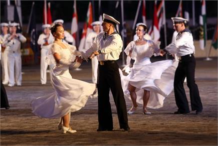 Indian Navy Day- रूस की Black Sea Fleet आज गेटवे ऑफ इंडिया मुंबई पर...