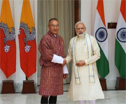 भारत यात्रा पर आए भूटान के प्रधानमंत्री