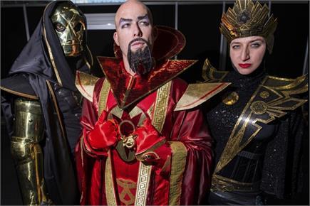 देखिए New York Comic Con  की मजेदार तस्वीरें