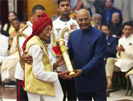 पद्म पुरस्कारों से नवाजी गई 53 हस्तियां, 'वृक्ष माता' ने राष्ट्रपति...