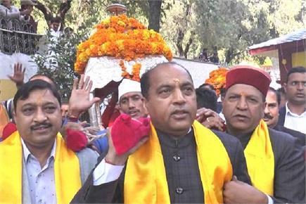 अंतरराष्ट्रीय रेणुका मेले का समापन, CM जयराम ने देव पालकी को किया...