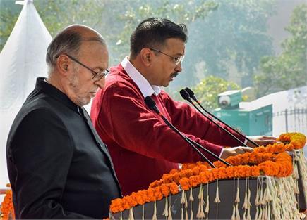 'दिल्ली के बड़े बेटे' केजरीवाल तीसरी बार बने मुख्यमंत्री, फिर...