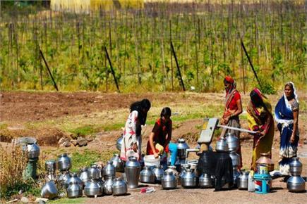 गर्मी और पानी का कहर- 5000 लोग और महाराष्ट्र के डिंडोरी में सिर्फ एक...