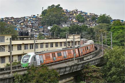 लंबे इंतजार के बाद मायानगरी में फिर से दौड़ी मेट्रो