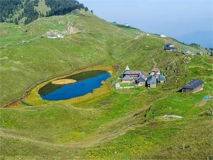 पराशर ऋषि की तपभूमि है मंडी की पराशर झील(PICS)