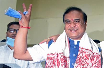 हिमंत बिस्व सरमा होंगे असम के नए मुख्यमंत्री